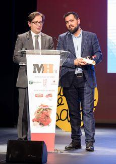 David Prieto y Víctor Martín en la Gala Maestros Hosteleros '17