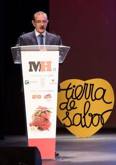 Nino Martínez en la Gala Maestros Hosteleros '17