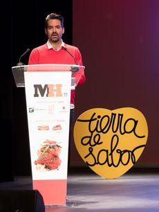 Javier de Blanco en la Gala Maestros Hosteleros '17