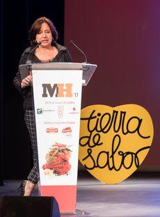 Isidora Beotas en la Gala Maestros Hosteleros '17