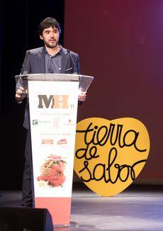 Óscar García en la Gala Maestros Hosteleros '17