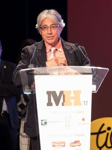Jesús Ramiro en la Gala Maestros Hosteleros '17