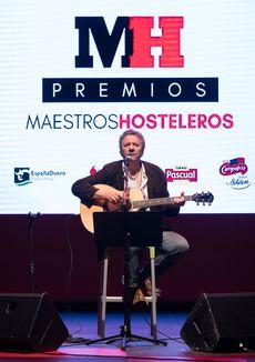 Actuación de Revólver durante la Gala Maestros Hosteleros '17