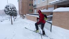 Temporal de nieve en Castilla y León