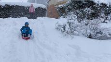 Gran nevada en Ávila