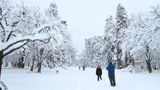 Nieve en Segovia