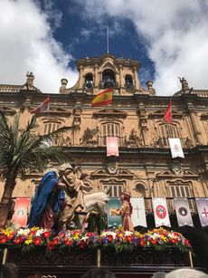 Procesión de los niños. Salamanca.