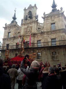 Viernes santo, Bendito Cristo de los afligidos. Astorga, León.