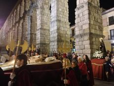 Via Crucis de la Cofradía de los Gascones del barrio del Salvador de Segovia.