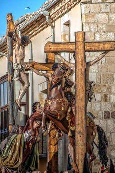Paso de la Lanzada, Real Cofradía del Santo Entierro, Zamora.