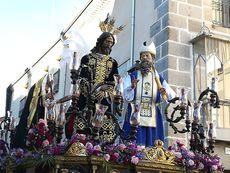 Jesús Redentor ante Caifás.