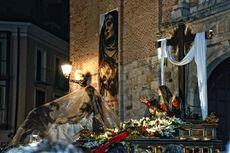 La Piedad entrando en la iglesia de San Martín Valladolid.