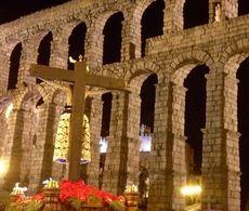 Procesión Cristo del Mercado. Segovia.
