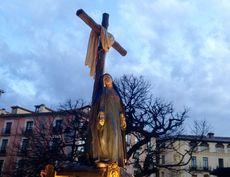 Imagen Soledad al Pie de la Cruz. Segovia.