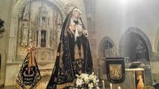 Soledad de la Virgen. Burgos.