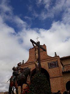 Caballo de Longinos. Sahagún, Palencia.