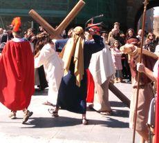 Jesús camino del Calvario. Ávila.