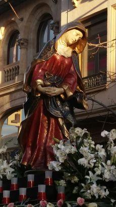 Nuestra Señora del Silencio. Salamanca.