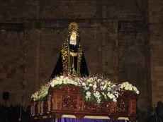 Virgen de la Soledad. Zamora.