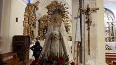 Virgen de la alegría. Chañe (Segovia).