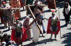 Representación de la Pasión de Cristo, jueves Santo (Ávila).
