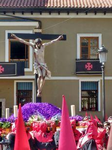 Imagen del Santísimo Cristo de la Luz. Jueves Santo en Valladolid .