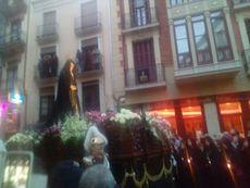 Virgen de la Soledad de Zamora.
