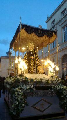 La Virgen de la Soledad de Palencia.