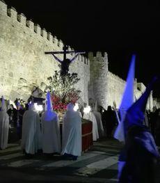 Stmo. Cristo de la Agonía - Procesión del Silencio (Ávila).