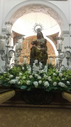Virgen Vulnerata de Valladolid.