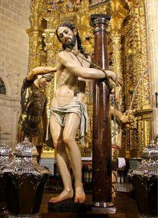 La flagelación. Medina de Rioseco. Valladolid.