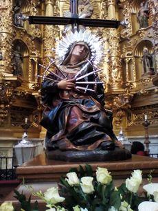 Dolorosa . Medina de Rioseco, Valladolid.