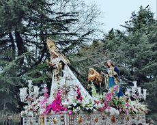 Procesión de Domingo de Resurrección en León.