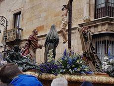 Procesión de los pasos el Viernes Santo.