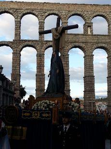 Soledad al pie de la Cruz. Segovia.