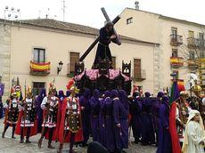 Procesión del Encuentro en Ciudad Rodrigo, Salamanca.