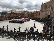 Procesión del Encuentro. Medina del Campo, Valladolid.