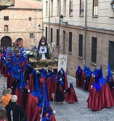 Procesión del Jueves Santo en Soria. Paso de la Verónica.