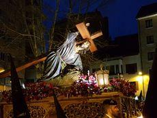 Jesús Tercera Caída. Lunes Santo en Zamora.