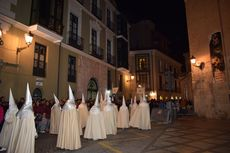 Procesión de Perdón y Esperanza. Cofradía de la Sagrada Cena de Valladolid.
