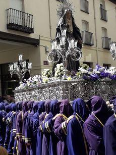 Virgen de la Amargura. Procesión de los pasos de Palencia.