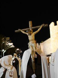 Procesión del Via Matris. Cofradía del Santísimo  Cristo de los Afligidos, Ávila.
