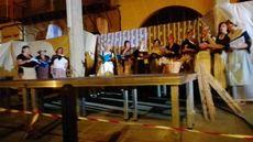 Villada, Palencia.   Coro de mujeres de Villada en la Fiestas del Indiano los días 30 y 31 de Julio
