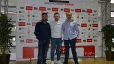 Miguel Ángel de la Cruz, Juan Carlos Jiménez y Alberto de la Curz, de La Botica, premio al Mejor Restaurante.