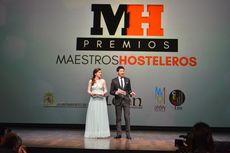 Blanca Fraile y Miguel Castañeda, presentadores de la gala.