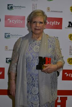Paulina Andrés, del restaurante Río de la Plata de Salamanca, ganadora del Premio Especial Maestros Hosteleros 2018