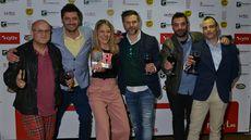 Equipo del bar Zielo de León, ganadores del Premio Ribera del Duero al Mejor Bar.