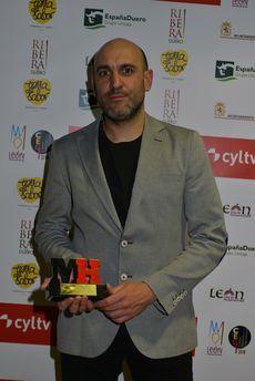 Luis Alberto Lera, del restaurante Lera, ganador del Premio Maestros Hosteleros al Mejor Cocinero.