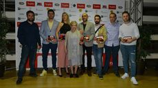 Varios de los ganadores de los II Premios Maestros Hosteleros.
