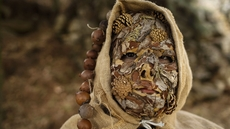 Festival de máscaras en Navalosa, Ávila (2018)